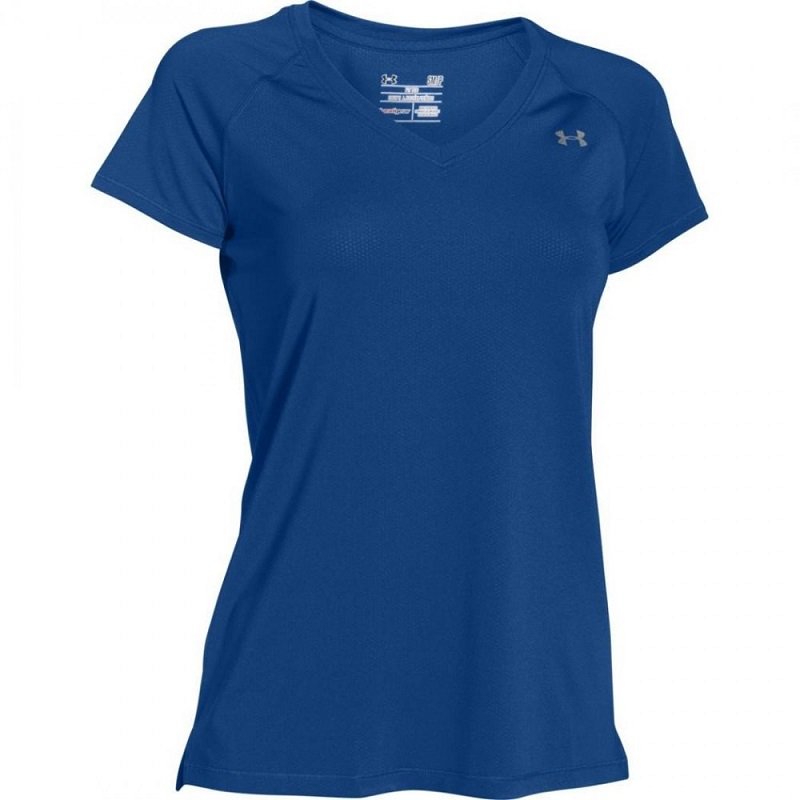 c2475bbac0a820 Koszulka Under Armour Heatgear - niebieska 1269102-420 - Sklep ...